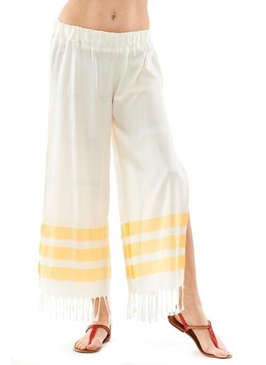 Peschtemall Plaj Pantolonu Sarı